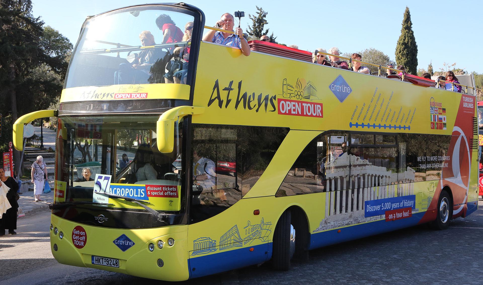 athens open tour