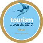 Athens Open Tour | tourism awards 2017 GOLD
