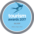 Athens Open Tour | tourism awards 2017 SILVER