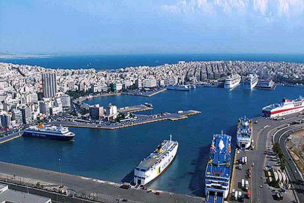 piraeus port panoramic