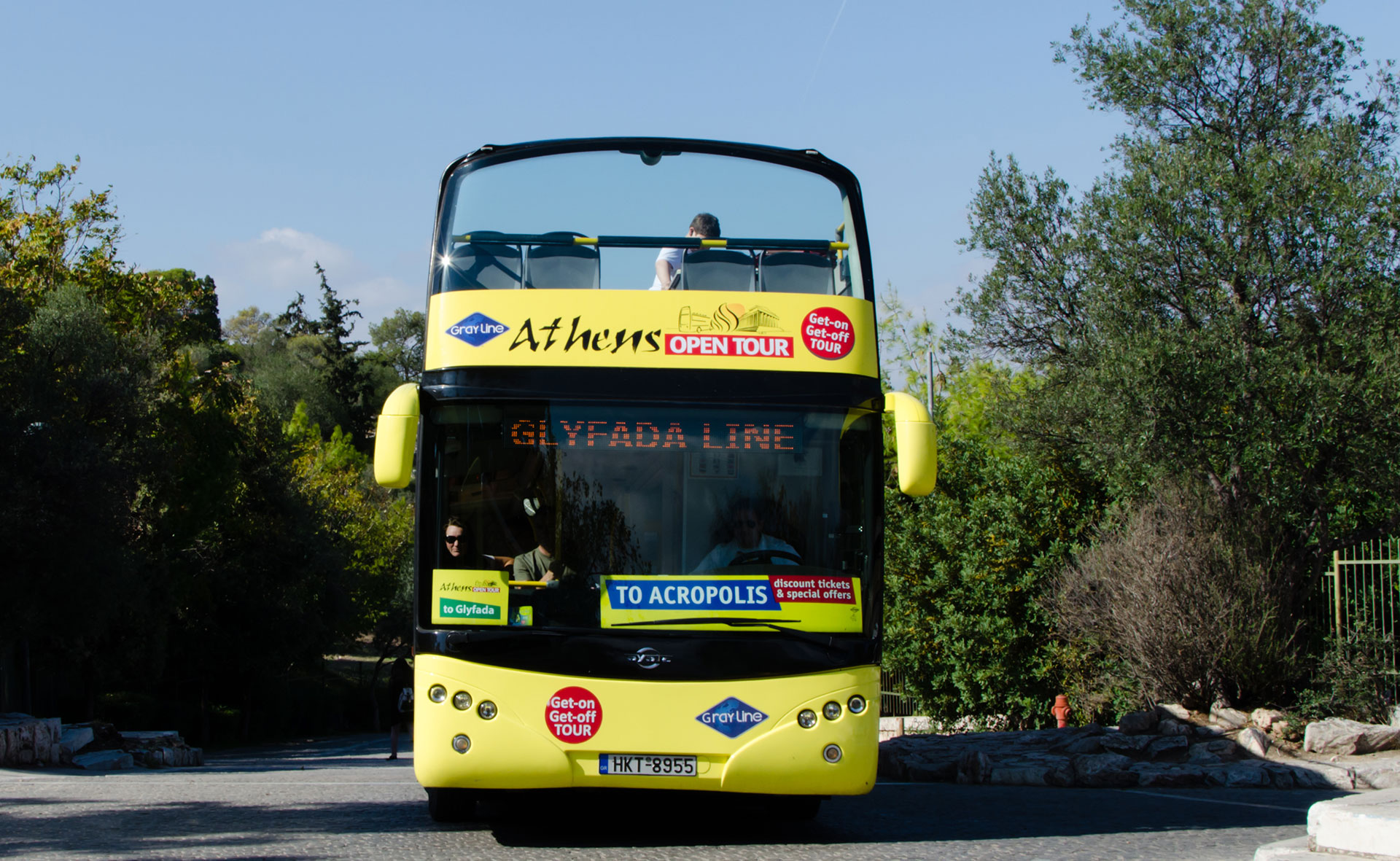 Athens Open Tour | Get on Get off Bus