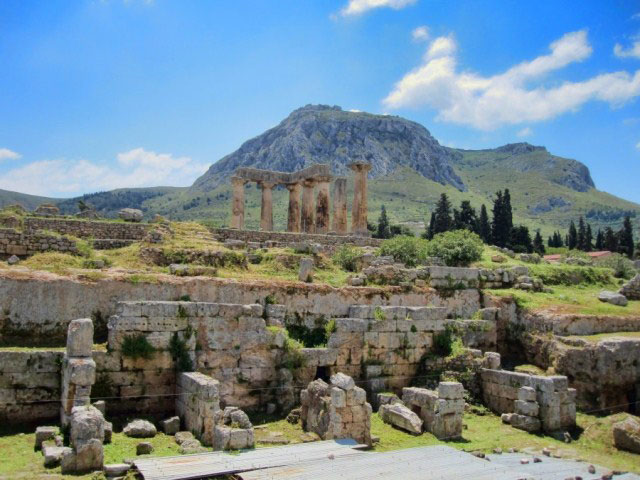Ancient Corinth & Dafni Monastery