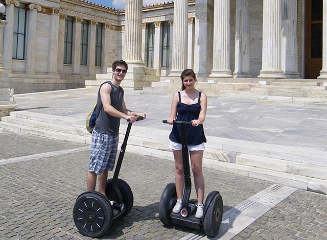 Athens Acropolis tour on segway